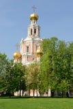 Kościół intercesja przy Fili Zdjęcia Royalty Free