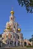 Kościół intercesja przy Fili, Moskwa obrazy stock