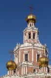 Kościół intercesja przy Fili, Moskwa zdjęcie royalty free