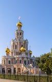 Kościół intercesja przy Fili, Moskwa obraz royalty free