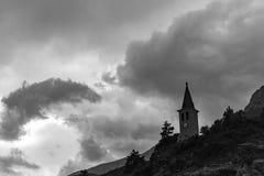 Kościół Jausier zdjęcia stock