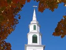 kościół jesieni zdjęcie stock