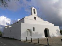 kościół jest ibizie Zdjęcia Stock
