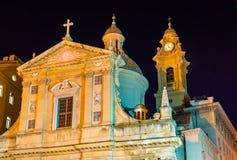 Kościół Jezus Ambrogio i święty zdjęcia royalty free