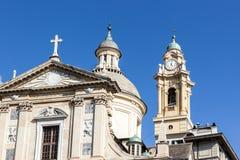 Kościół Jezusowy i Świątobliwy Andrew Zdjęcia Royalty Free