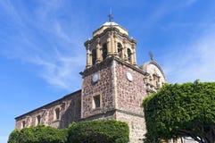 Kościół kąt w Tequila Meksyk Zdjęcia Stock