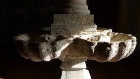 Kościół kamienia zlew w kolumnie Fotografia Royalty Free