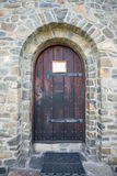 Kościół Kamienny drzwi Zdjęcia Stock