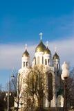 kościół katedralny ortodoksyjny Obrazy Royalty Free