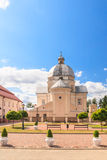 Kościół Katolicki Święta trójca Liskiava Lithuania obrazy royalty free