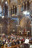 kościół katolicki cześć czciciele Fotografia Stock