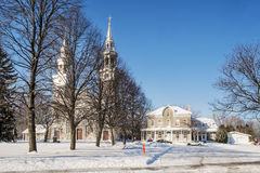 Kościół Katolicki Montreal fotografia stock