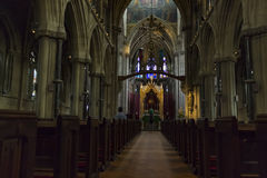 Kościół Katolicki Nasz dama i Angielscy męczennicy Zdjęcie Royalty Free