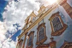 Kościół Katolicki Salvador, Bahia - Brazylia | Rubem Sousa Dla Box® zdjęcia royalty free