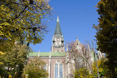 Kościół Katolicki St Elisabeth, kościół St Olha i Elizabeth Obraz Royalty Free