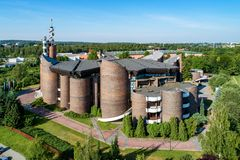 Kościół Katolicki w Katowickim, Polska Obraz Royalty Free