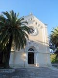 Kościół Katolickiego święty Jerome w Herceg Novi Obraz Stock