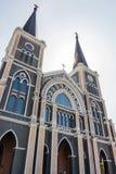 Kościół Katolickiego inThailand Obraz Stock