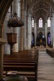 kościół katolickiego nave Zdjęcie Stock