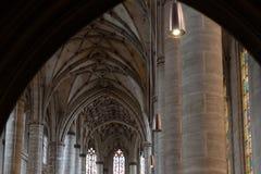 kościół katolickiego nave Fotografia Royalty Free