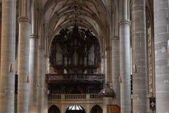kościół katolickiego nave Obraz Stock