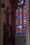 kościół katolickiego nave Obrazy Stock