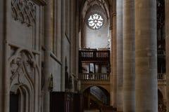 kościół katolickiego nave Obraz Royalty Free
