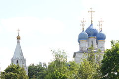 Kościół Kazan ikona matka bóg w Kolomenskoye Obraz Royalty Free