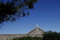 Kościół krzyż Obrazy Royalty Free