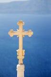 kościół krzyż Zdjęcie Stock