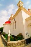 kościół krzyża menchie zdjęcia stock