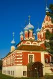 Kościół książe Dimitri «Na krwi «w Uglich zdjęcie stock