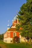 Kościół książe Dimitri «Na krwi «w Uglich zdjęcia royalty free