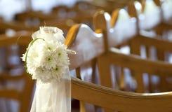 kościół kwiaty na ślub Zdjęcia Stock