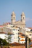 Kościół Lapa Od odległości zdjęcia royalty free
