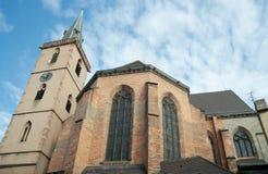 Kościół le, Strasburg, Francja Obraz Stock
