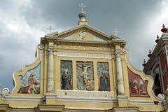 Kościół, Leon, Nikaragua Obraz Stock