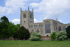 kościół Lincolnshire tattershall Anglii zdjęcie royalty free