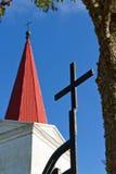kościół lutheran Zdjęcie Royalty Free