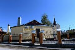 Kościół męczennik Panteleimon Święty Wielki uzdrowiciel Volgodonsk diecezja w Tsimlyansk i zdjęcie royalty free