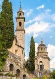 Kościół madonny dell ` Immacolata w Brienno, Włochy Obrazy Royalty Free