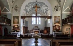 Kościół Mary królowa ołtarz Zdjęcia Stock