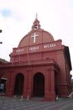 kościół melaka Obrazy Royalty Free