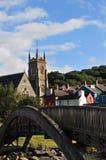 Kościół mostem Fotografia Stock