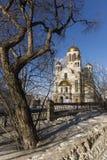 Kościół na krwi na cześć Wszystkie świętych Resplendent w Rosja Zdjęcia Royalty Free