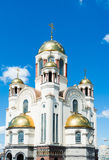 Kościół na krwi na cześć Wszystkie świętych Resplendent w Russi Zdjęcie Stock
