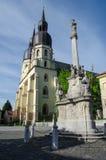 Kościół na kwadracie zdjęcie stock