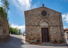 Kościół na niebieskim niebie Obraz Royalty Free
