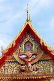 Kościół na Tajlandzkim Ubosot Obraz Royalty Free