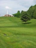 Kościół na wzgórzu Zdjęcia Stock